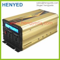China 2015 New Design Meanwell 1500W CE DC/AC pure Sine Wave Inverter LCD display on sale