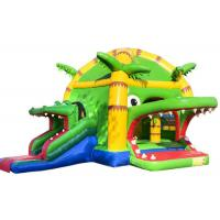 China Scary Crocodile Kids Inflatable Bounce House In Public 5.2 * 5.9 * 4.5 Customized on sale