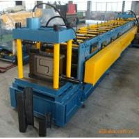 18-20Mpa Gcr 15 Z Purlin Roll Forming Machine With 15 Rows Rollers / PLC Vector Inverter Manufactures