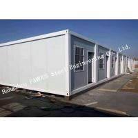 Quality Classroom / Office Units Structural Steel Construction Modular Container House Expansion Project for sale