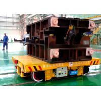 Foundry Motorized by Battery Propelled Automatic Die Handling Transfer Cart For Sale Manufactures