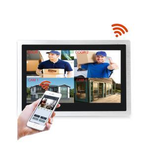 Smart home system 10 inch touch screen metal video door phone camera ip sip wifi video doorbell Manufactures