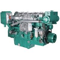 Marine Diesel Engines 112 Kw 152 HP For Boat With Four Stroke Binary Cooling Manufactures
