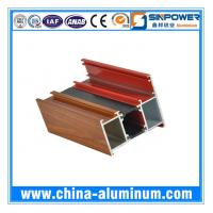 China Extruded Thermal Break Aluminum Profile for Sliding Window China on sale