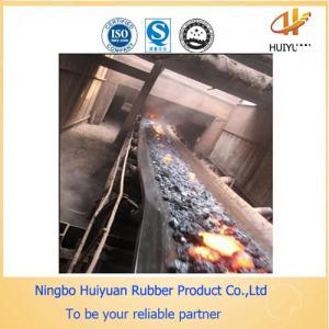 Heat & High Temperature Resistant Conveyor Rubber Belt (NN100-NN500) Manufactures