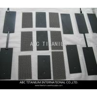 China Mixed MMO coated Titanium anode for Water ionizer on sale