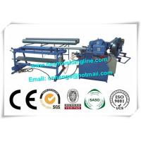 Industry Orbital Tube Welding Machine , Spiral Duct Making And Forming Production Line for sale