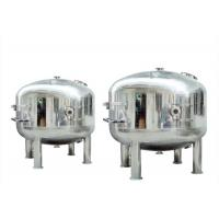 Stainless Steel High Pressure Micro Filter Housing , Water Filter Cartridge Housing Manufactures