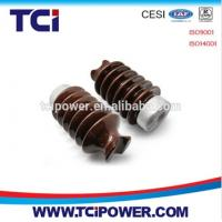 ANSI 57 series 10kv-45kv ceramic porcelain line post insulator Manufactures