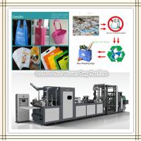 Hot Sealed Non Woven Shopping Bag Machine Manufactures