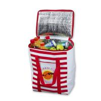Custom Insulated Cooler Bags , Big Capacity Insulated Wine Cooler Bags Manufactures