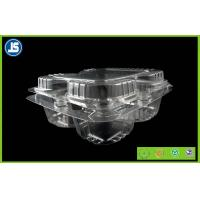Disposable Plastic Food Packaging Trays / Eco-friendly Fruit Punnet Manufactures