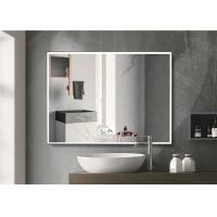 Warm Light LED Bluetooth Bathroom Mirror With Explosion Proof Surface Manufactures