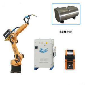 China Aluminium 3400W Automatic Mig Welding Robot HWASHI HS-RAW06 on sale