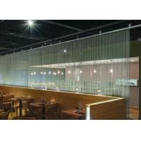 Chain Link Curtain Metal Coil Drapery For Restaurants / Cafes / Retail Outlets Manufactures