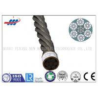 China Ungalvanized Elevator Steel Wire Rope 6x19S+IWRC With Drawn Wire Type on sale