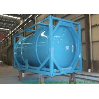 20 Feet ISO Wast Water Tank Container For Bulk Liquid 20000L Optional PE Lined Manufactures