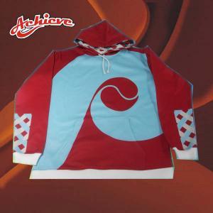 Customized 100% polyester hoody sweatshirt/fleece hoodies Manufactures