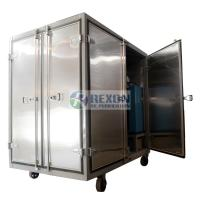 Dust Proof Enclosed Hot Air Generator , Compressed Air Drying Equipment DAG-300 Manufactures