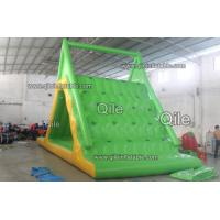Colorful Inflatable Climbing Water Slide With Durable Anchor Pads Manufactures