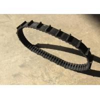 China 32 * 12.7 * 66 small size robot Rubber Tracks with length 838.2mm weight 0.5kg on sale
