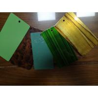 Epoxy Polyester Wood Grain Texture Color Tech Powder Coating Excellent Flexibility Manufactures