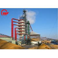 Single Outdoor Corn Dryer Machine With Husk Burner 100 - 1000 Tons Capacity Manufactures