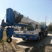year 2011 used 65T TADANO all Terrain Crane TG-650E truck crane color blue for sale