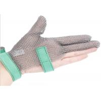 Butcher Anti Cutting Stainless Steel Gloves With Metal Plates , High Strength Manufactures