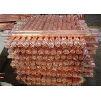 Oxygen Free Round Copper Rods With Insulated , Copper Bonded Rods Manufactures