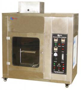 China Cellular Plastic Horizontal Flammability Testing Equipment ISO 9772 Standard on sale