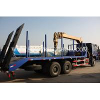 China Diesel 6×4 Cargo Truck Mounted Crane , 12TONS Truck Bed Lift Crane Model SQ12SK3Q on sale