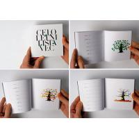China color Fashion mini booklet printing with high quality on sale