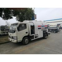 China 5.5CBM Small Propane Cylinder Truck , 2 Tons Mobile Lpg Truck Tanker on sale