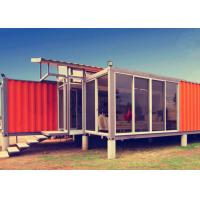 Multifunctional Portable Container House , White Prefab Container House For Restaurant Manufactures