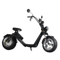 EcoRider Two wheel fat tire caiqiees citycoco electric scooter with EEC certificate Manufactures