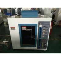 China Cable Electronic Testing Equipment IEC60695 Needle Flame Test Chamber on sale