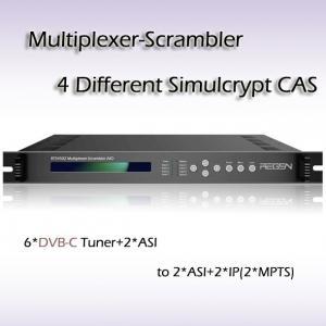 Multiplexer-Scrambler AIO DVB 6*DVB-C TO 2*ASI/IP RTS4502 Manufactures