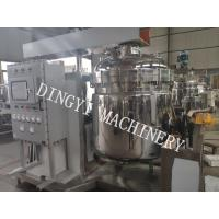 High Shear Industrial Mixing Machine / Planetary Mixer Pharmaceutical 1610kgs Manufactures