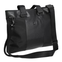 China 13 Black Business  Soft  Notebook Laptop Computer Bag Cool Stylish messager bag on sale