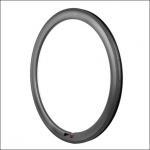 25mm Width Carbon Bike Rims , Carbon Fiber Bicycle Rims EN Certificated Manufactures