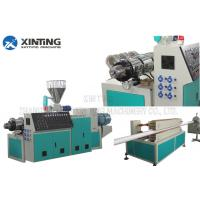 China pvc pipe making machine with vertical gear box plastic pipe diameter 16-63mm on sale