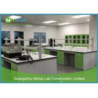 Green Color Laboratory Furniture Systems Lab Working Table For Pathological Easy Clean Manufactures