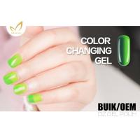Quality Uv Light Gel Nail Polish , Heat Changing Gel Nail Polish That Changes Color With Mood for sale