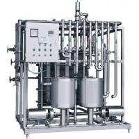 Sliver Color Milk Pasteurization Equipment , Milk Pasteurisation Machine Customized Size Manufactures