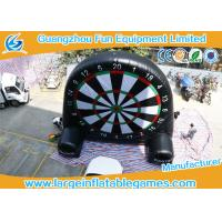 Giant Inflatable Football and Golf Dartboard with Velcro Balls Manufactures