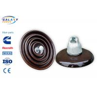 China Disc Type High Voltage Porcelain Insulators Overhead Line Power Accessories on sale
