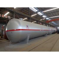 100cbm Liquid Propane Gas Tank , Horizontal Transporting Large Propane Tanks Manufactures