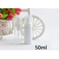 China Foam Soap Pump Plastic Cosmetic Bottles Non Spill 50ml 100ml 150ml 200ml on sale