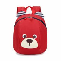 Red Shoulder School Backpack / Kids School Rucksack For Primary Students